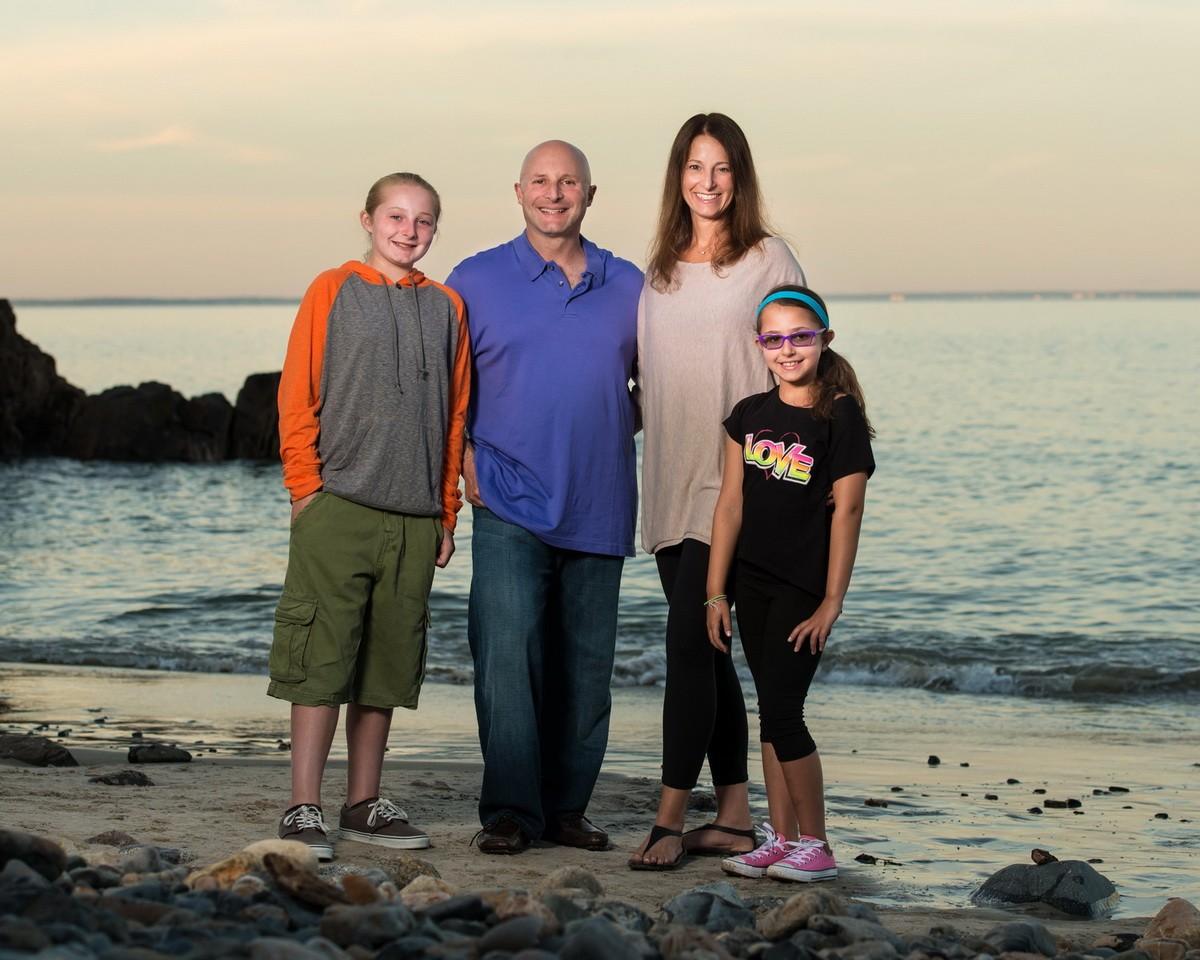 Ogunquit Sunset family portrait